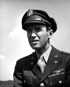 WWII Bomber Pilot Brigadier General James Stewart - Jimmy started out making recruiting films during WWII but was unhappy with the assignment and pushed until he was assigned to the 445th Bomb Group where he flew numerous combat missions into Germany.