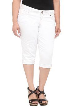 Torrid Denim - White Cropped Jeans