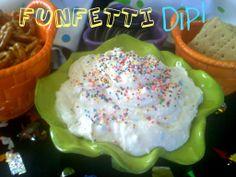 ~Funfetti Party Dip!