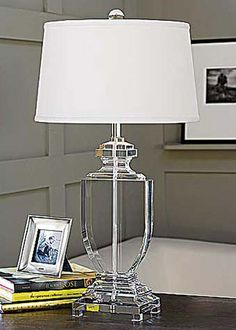 Regina Andrew Lighting Crystal Flat Urn Lamp