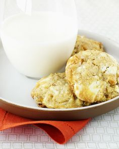 Martha Stewart: White Chocolate-Chunk Cookies.