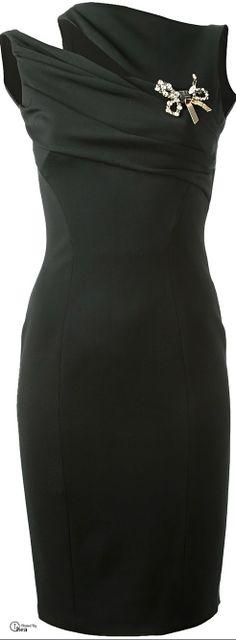 DSquared2 ● Black Asymmetric Dress