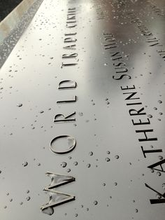 One World Trade Center, Twin Tower Memorial, NYC