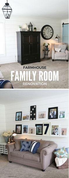 Family Room Ideas| F