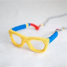 #DIY #Crochet #glasses