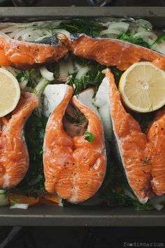 Baked Red Rainbow Trout