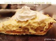 Very Banana, Banana Cream Pie {recipe}   Picklee