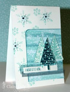 Stampin' Up! Festival of Trees and Endless Wishes for SB69