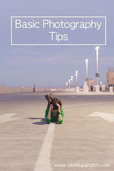 Basic Photography Tips
