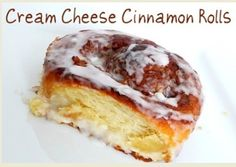 Cream Cheese Cinnamon Rolls for Easter. Yum!