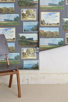 Gallery Curator Wallpaper #anthropologie