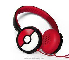 NEW Poke-phones Headphones