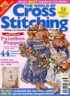 Gallery.ru / Фото #1 - The world of cross stitching 021 июль 1999 - tymannost
