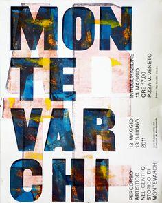 poster - letterpress, via Flickr.