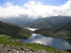 Wales, up to Snowden, I have hiked this mountain, so beautiful and breathtaking!