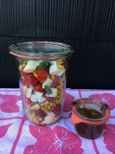 Fresh Corn and Tomato Salad recipe from @anniediamond