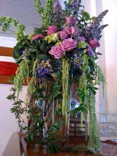 A beautiful arrangement for the bar