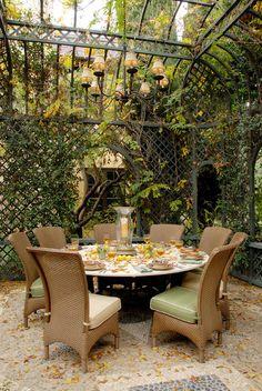 18 Amazing Outdoor Dining Room Design Ideas - Style Motivation