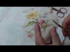Lu Heringer - Decoupage em sabonete- Parte 2 - YouTube