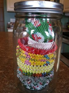 Simply Everyday Organization Ideas-- I need to do this cupcake paper one already!!