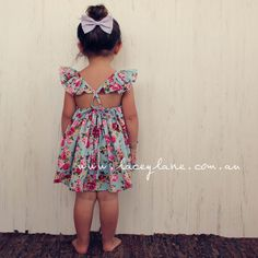 #fairy #dress #summer #floral #frill One of our most popular designs this summer!