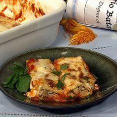 Mario's Cannelloni al Forno.