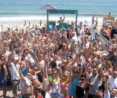 Beach dance party with live DJ @ seasonal Paddys Beach in Westerly RI!    Summer's right around the corner, stay up to date on opening dates and upcoming events at Paddy's here: http://tonightinri.com/paddysbeach     #VisitRhodeIsland
