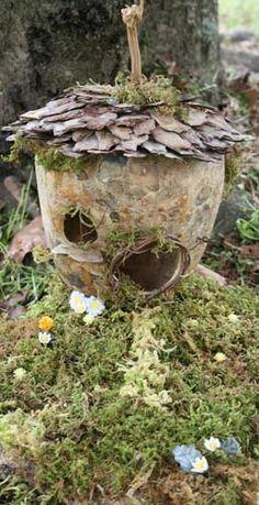 Gourd Fairy House by Autumn Jones (copyright Autumn Jones)