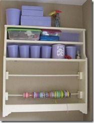 yogurt cup craft organization