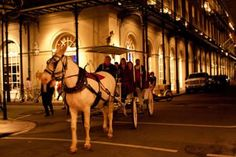 Private Haunted Carriage Tour in New Orleans: Ride through the French Quarter i...