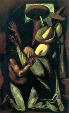 Orozco, Jose Clemente (1883-1949) - 1930 Zapata (Art Institute of Chicago, USA) (by RasMarley)