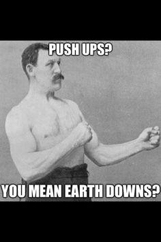 Fitness humor