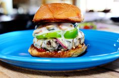 The Pioneer Woman's Supreme Pizza Burger