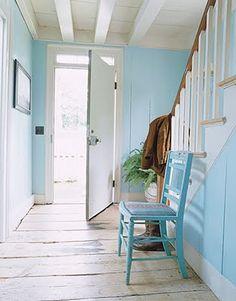 beautiful shade of blue