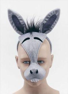 Donkey costume diy