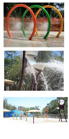 Splash Park On Pinterest Splash Pad Backyard Playground And Water Parks