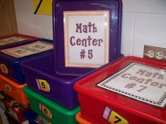 Classroom Organization galore!