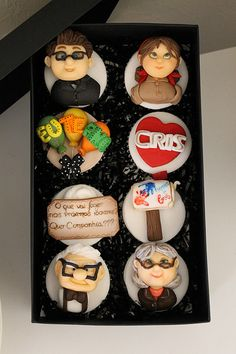 Disney Carl and Ellie UP Cupcakes! I need someone to make these!