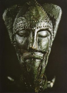 Celtic Iron Age Bronze figure