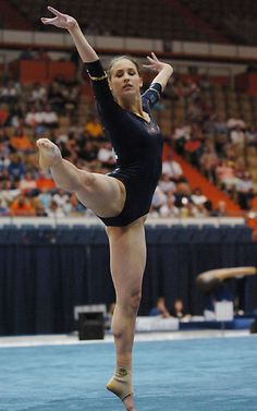 BYU gymnastics gymnast  moved from Kythoni's Gymnastics: Collegiate board http://www.pinterest.com/kythoni/gymnastics-collegiate/ m.35.6 floor exercise #KyFun