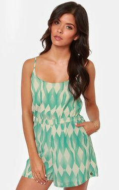 We #love this #romper for those #hot #summer days
