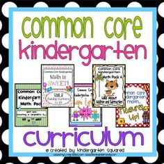 Everything you need to introduce, teach, practice, review, & assess EVERY single Kindergarten Common Core Math Standard! $