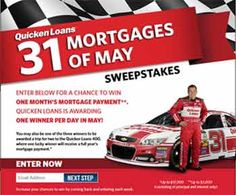 Quicken Loans 31 Mortgages of May Sweepstakes
