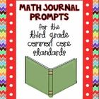 Get your students writing about math with 100 math journal prompts!  These Common Core journal prompts are sure to improve your students' critical ...
