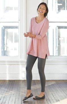 Ankle-length leggings | www.jjill.com