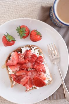 strawberry goat cheese