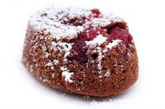 Chocolate raspberry friands