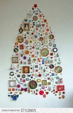 christmas decorations decor, holiday, craft, idea, xmas, christma tree, diy, christmas trees, wall