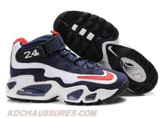Navy Blanc Rouge Nike Air Griffey Max 1