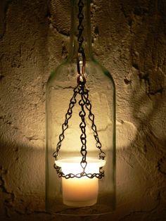 Medieval hurricane lantern.